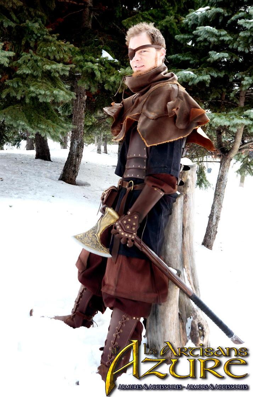 New Co-Worker - Mercenary's mantle by ArtisansdAzure