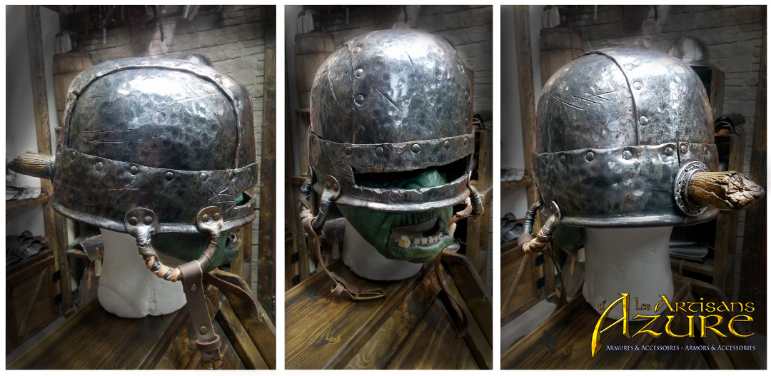 The Goblin Cauldron Helm by ArtisansdAzure