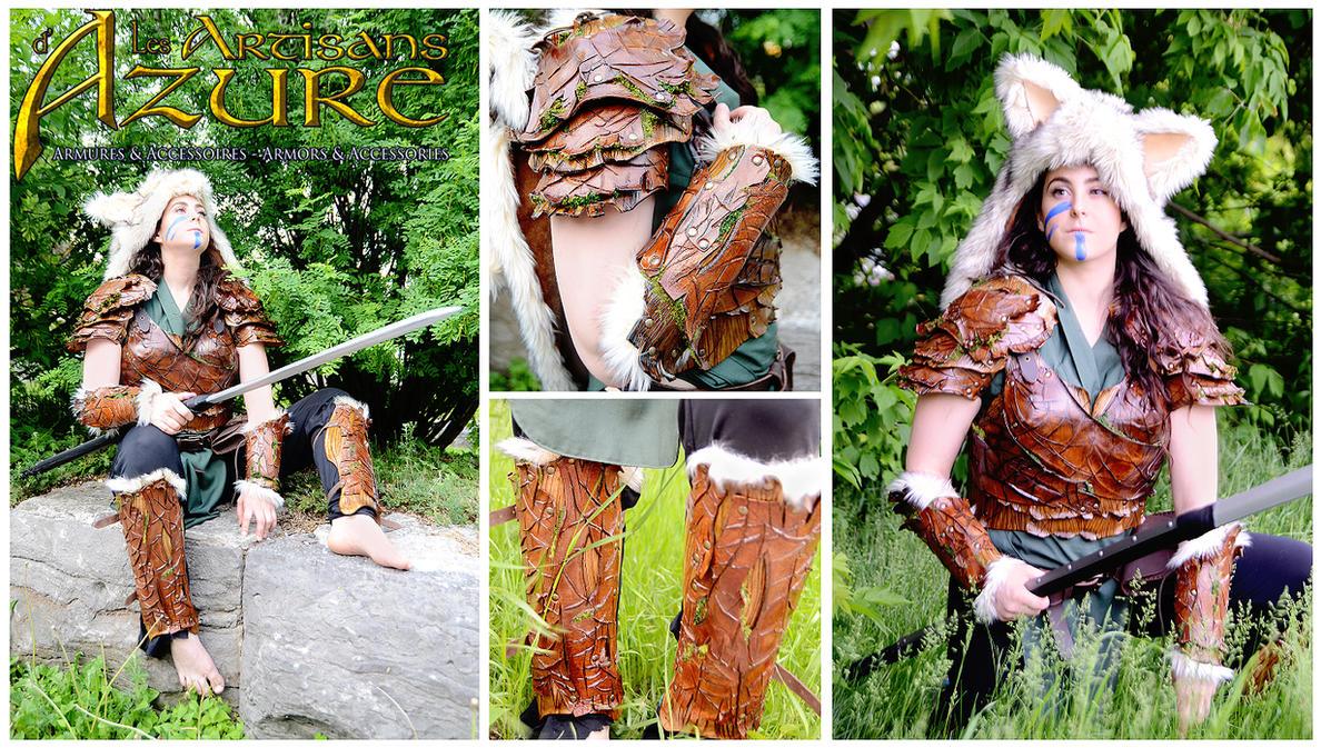 Bark Armor by ArtisansdAzure