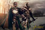 Ordo Cervi's Armor Duo 3 by ArtisansdAzure