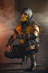 Scorpion Mortal Kombat X Cosplay 2 by ArtisansdAzure