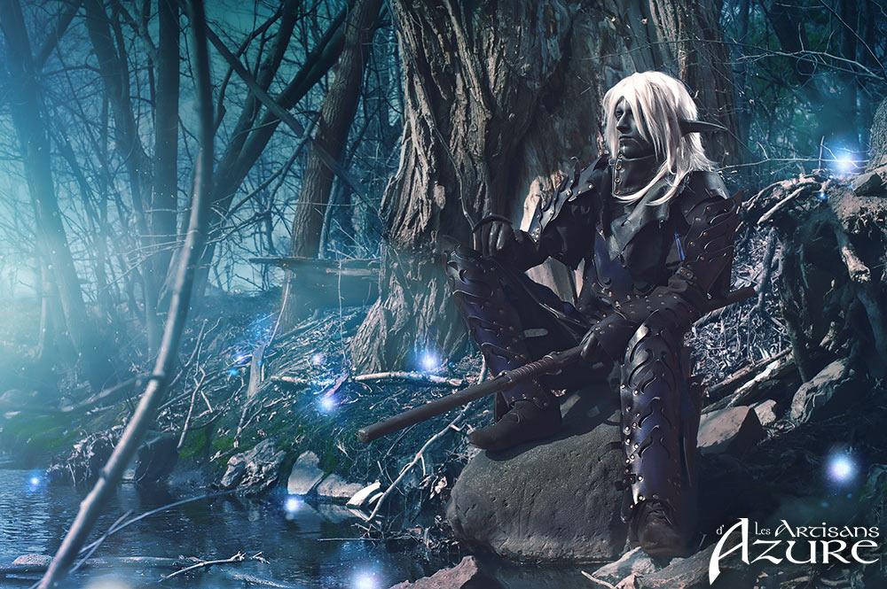 Dark Elf Armor (3) by ArtisansdAzure