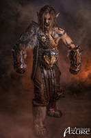 Grommash Hellscream - Horde - World of Warcraft 3 by ArtisansdAzure