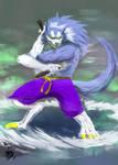 Kung fu Werewolf