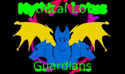 Mythical Lotus Guardians Warframe Clan emblem by RikkuWolfsBane