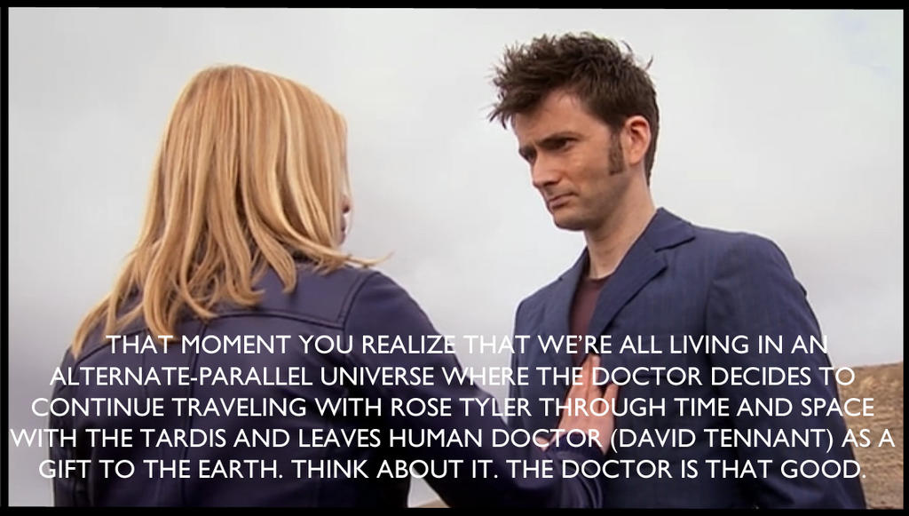 The Doctor Is That Good (Journey's End SPOILERS) by InuHalfDemon