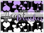 +HEART BRUSHES