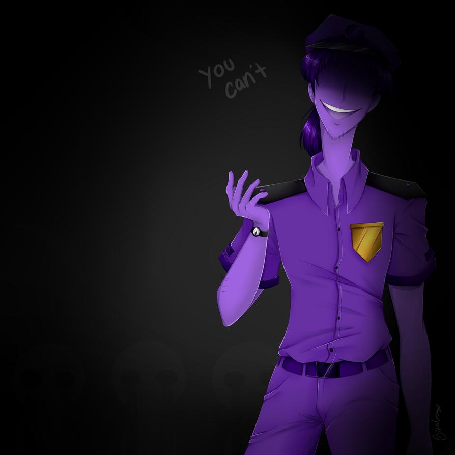 Purple guy by srealms on deviantart