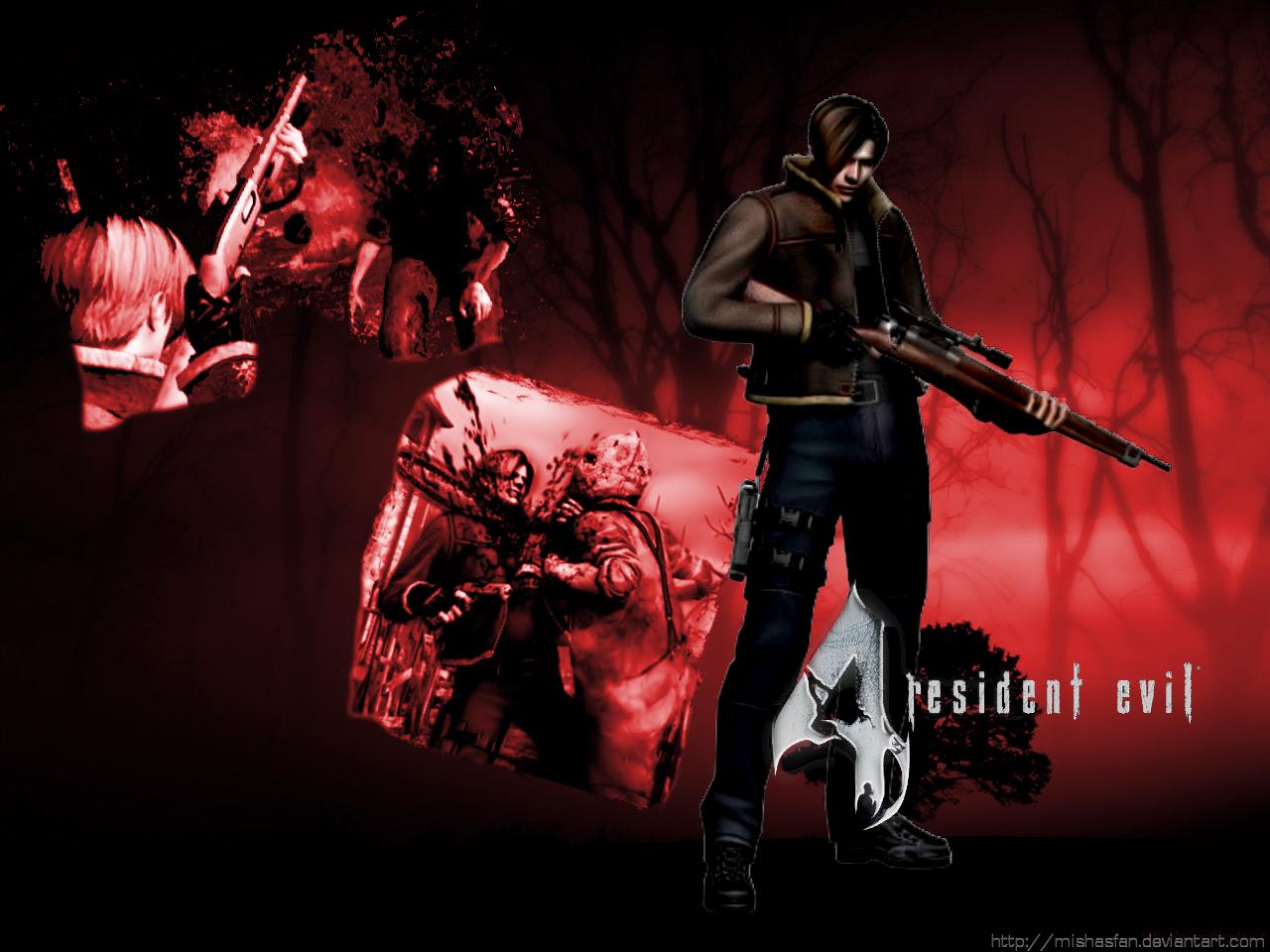 Resident Evil 4 Wallpaper By Manic Misha On Deviantart