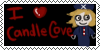 I love candle cove stamp by PandDoodle