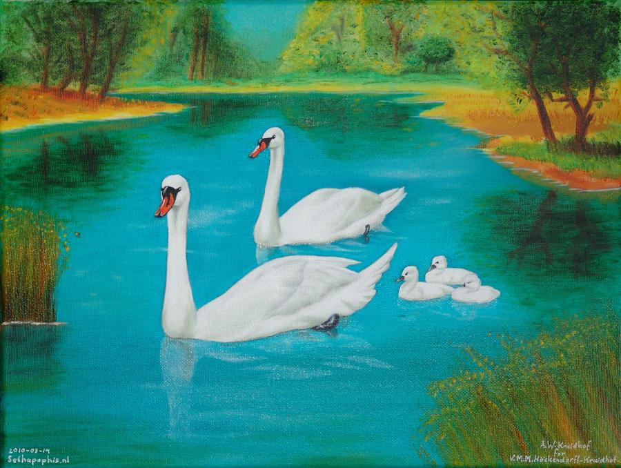 Swanlake by SethApophis