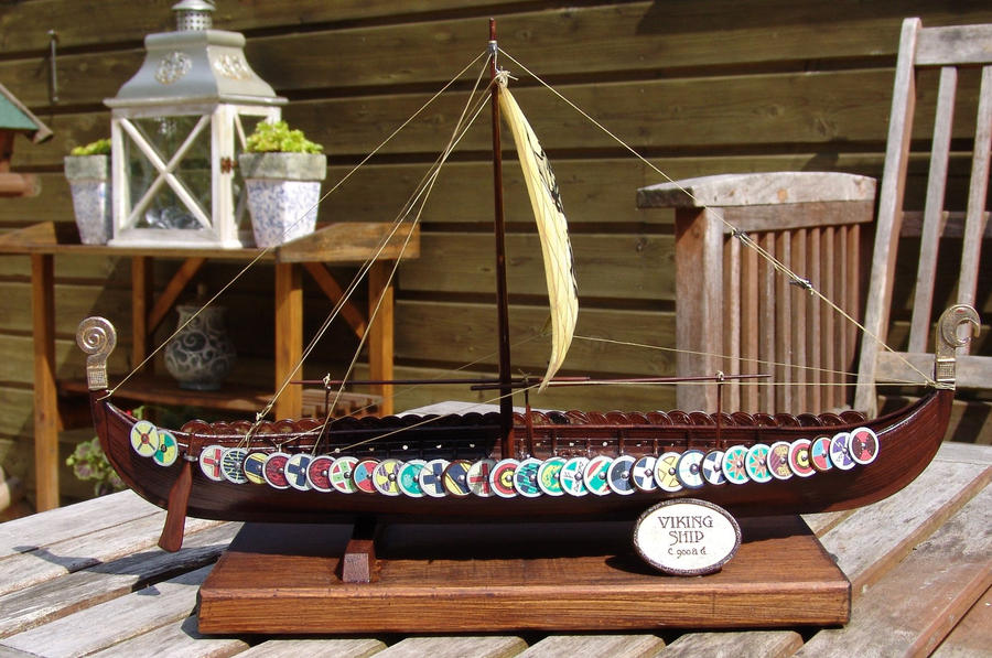 Vikin Ship II by SethApophis