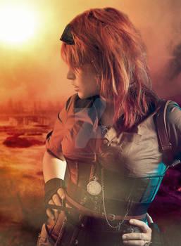 steampunk girl .3