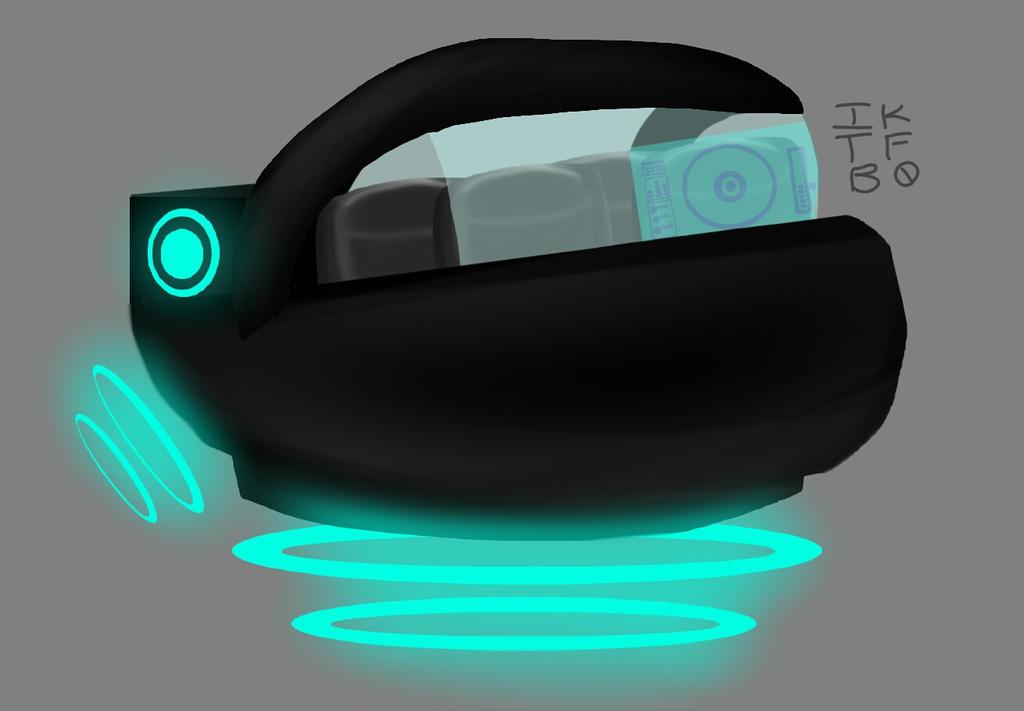 FUTURISTIC CAR by iKnowThatFeelBr0