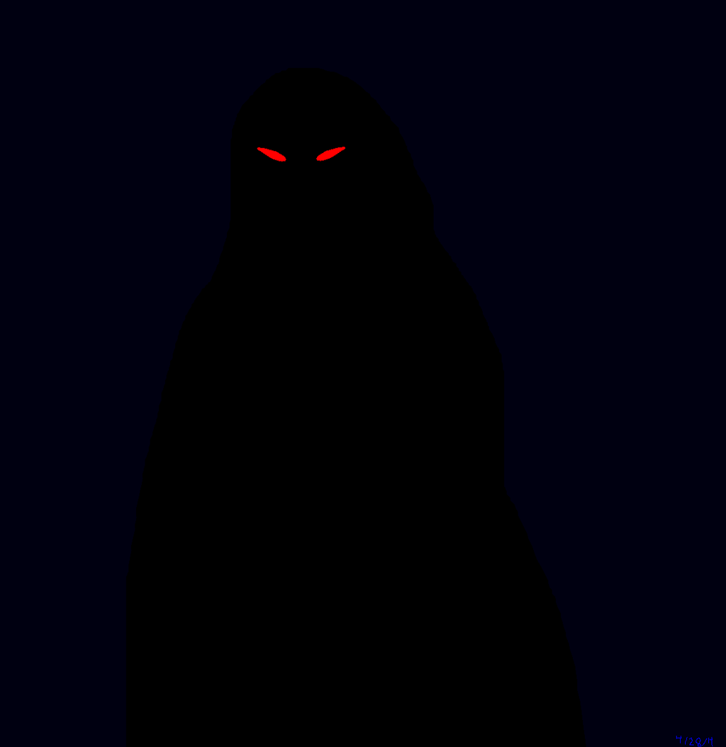 the gallery for gt shadow people hooded figure