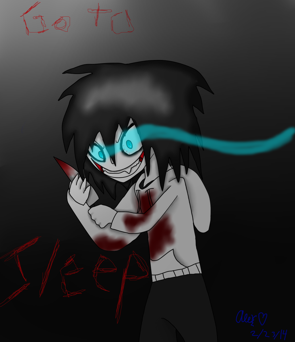 how to draw jeff the killer