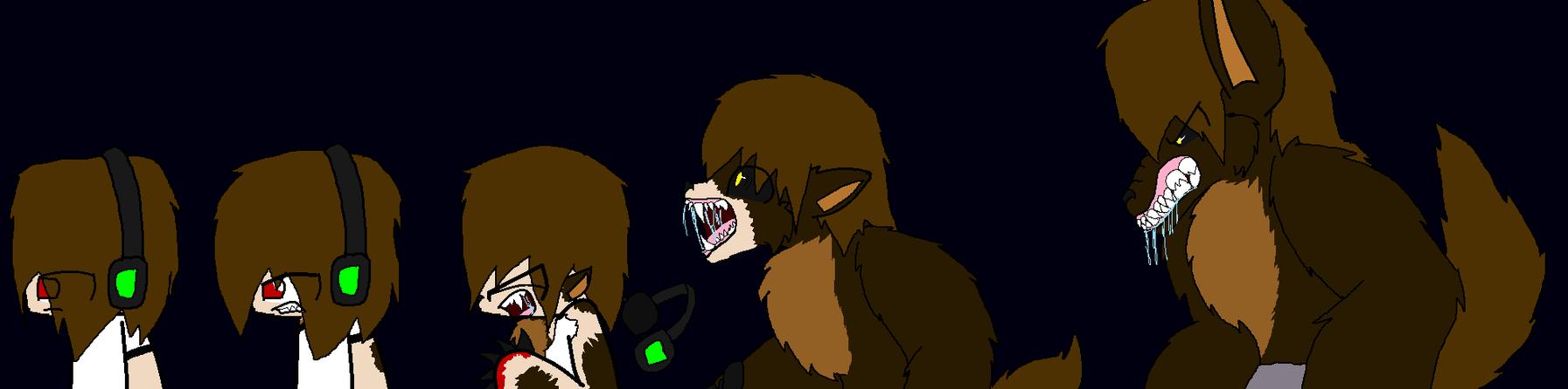 DeadLox's Werewolf Transformation by CandySugarSkullGirl9 ...