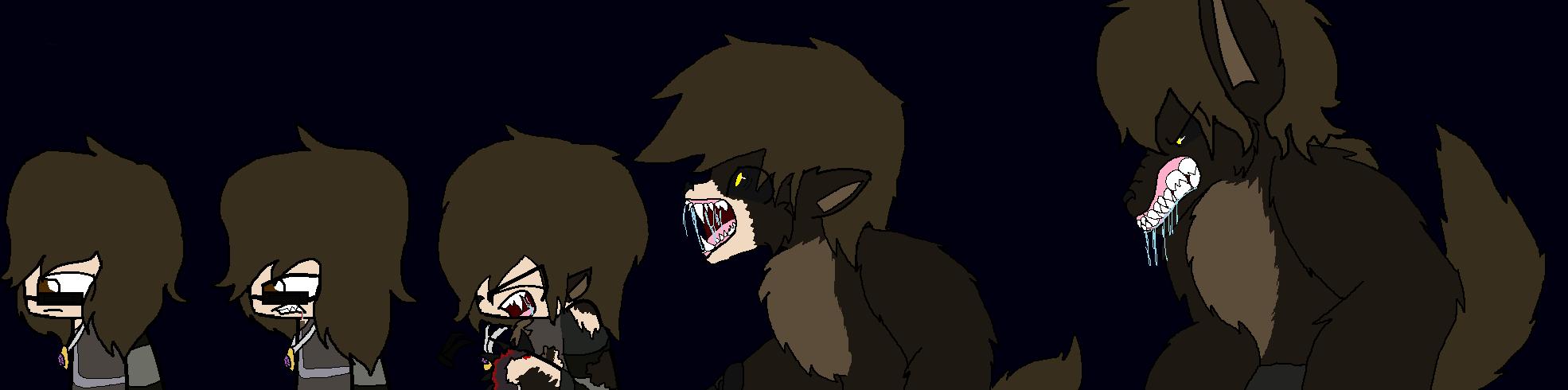 Sky's Werewolf Transformation by CandySugarSkullGirl9 on ...