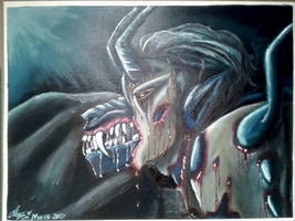 Let Out The Demon inside  by CandySugarSkullGirl9
