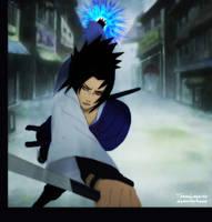 Uchiha Sasuke - God by TomasLacerda