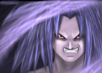 Uchiha Sasuke - Ravage by TomasLacerda