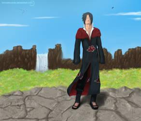 Uchiha Sasuke - Breathing by TomasLacerda