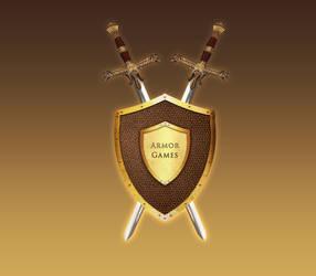 Armorgames logo Second Version by TomasLacerda