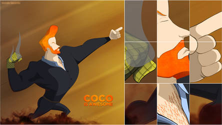 Conan O'Brien - COCO is awesome by TomasLacerda