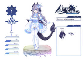 AF App - Luciella Ancalagoria by xXYukiNoUsagiXx