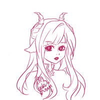 Luciella Ancalagoria Sketch