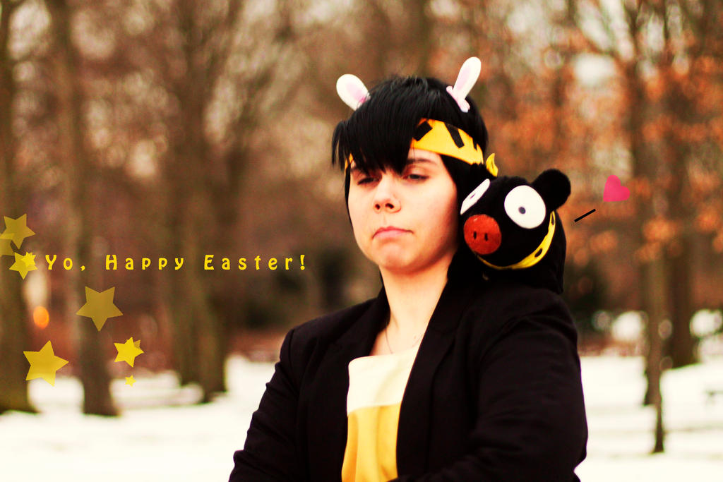 Happy Easter 2013 by Miha-ru