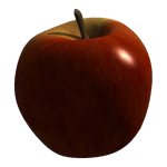 cut out apple