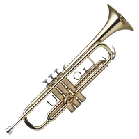 cut out trumpet by SolStock