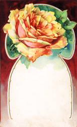 Vintage Rose Greeting