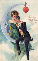 Valentine Moon Couple