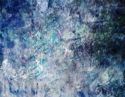 Blue Abstract Canvas by SolStock