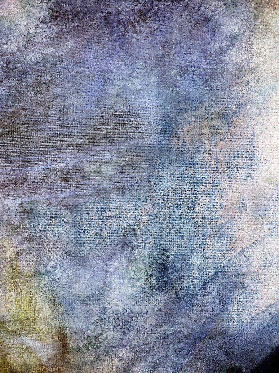 Blue rough canvas texture by SolStock