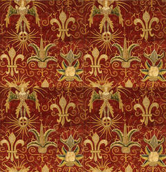 Red Tapestry by SolStock