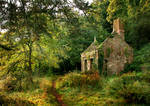 Country Cottage with texture