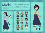 MICHI Character Reference and Biography