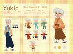 YUKIO Character Reference and Biography