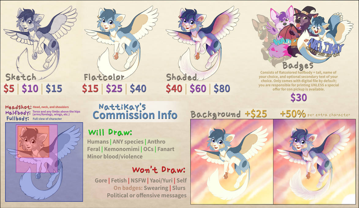 Commission Info and Prices [Open]