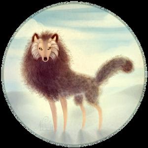 Fuzzy Wolf by NattiKay