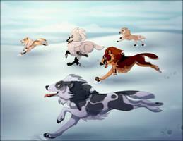 Collab: Snow Run by NattiKay