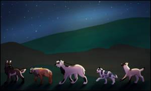Collab: Night Stroll by NattiKay