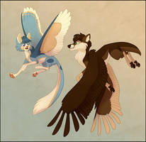 Feathered Friends by NattiKay