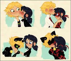 Love Square Kisses by NattiKay