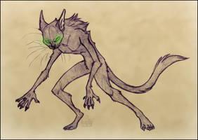 a werecat, basically by NattiKay