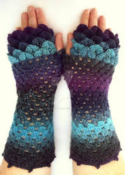 Galaxy Dragon Gloves - Mid