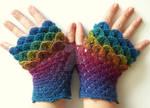 Jewels Dragon Gloves